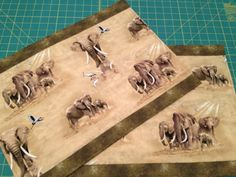 Beautiful Elizabeth Studio Elephant Placemats | Paws_and_Claws_Designs ...