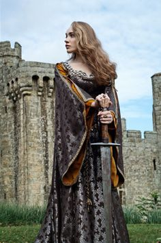 Richard Jenkins Photography #fantasy #medieval #fairytale #castle #sword #maiden #princess