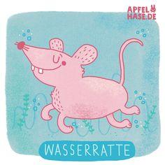 365 doodles: WasserWater rat :-)