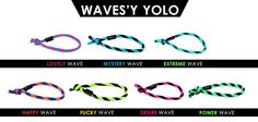 YOLO WAVES! NEON,COLORFUL,AWESOME! www.yoloshop.pl