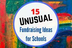 Unusual fundraising ideas for schools   Try something new and different Fundraising Ideas For Kids, Fundraising Events, School Fundraisers, Crazy Outfits, Future Career, Music Class, Try Something New, Halloween Themes, School Days
