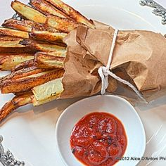 Peasant Herb Oven Roasted Fries by allyskitchen