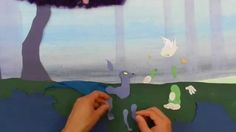 "Rough cut from ""Kevin & Derk The Mystical Creatures"" by Creativity Explored artist Trevor Cartmill-Endow.  Creativity Explored is a nonprofit visual arts center in San Francisco, CA that supports artists with developmental disabilities."