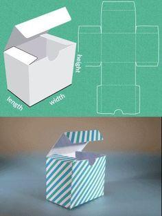 Completamente modelo personalizado feito sob medida para uma caixa de presente