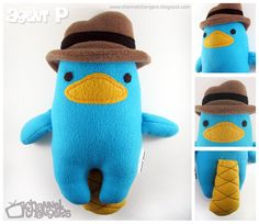 Agent P Plush by *ChannelChangers on deviantART