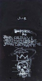 John Coltrane by Jean-Michel Basquiat
