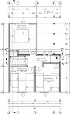 Attractive Descargar Plano De Casa Social 70m2 Y 2 Pisos