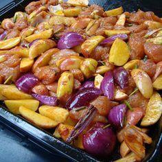 Mindent bele tepsis csirke Recept képpel - Mindmegette.hu - Receptek