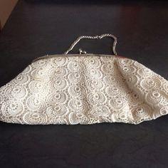 My vintage crochet evening bag