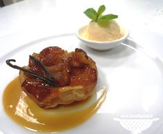 Tortine rovesciate di mele caramellate