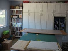 Connie's Crafts: Sewing room usable