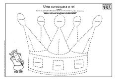 atividades biblicas rei joás - Pesquisa Google Crown Template, Sunday School Activities, Three Wise Men, Color By Numbers, Kids Class, Church Crafts, Fairy Tales, Crafts For Kids, Religion