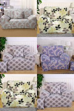 [Visit to Buy] Top Selling Seat Sofa Covers All-inclusive Universal Cover Slip Cover Loveseat Couch Covers Home Furniture Protector #Advertisement