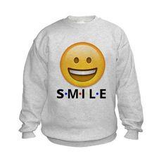 SMILE Sweatshirt on CafePress.com. Smile kids !!! f08a4af1f29b
