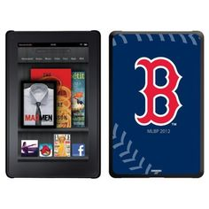 Boston Red Sox - stitch design on Thinshield Case for Amazon Kindle Fire by Coveroo. $39.95. This hard shell polycarbonate case offers a slim fit form factor, while covering the back and sides of your Kindle Fire