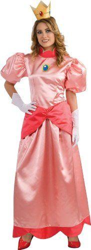 Adult Deluxe Princess Peach Costume - Medium. From #Rubie's Costume Co. List Price: $59.99. Price: $27.49