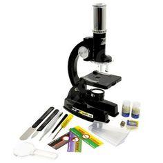 Mikroskop Mac Toys nebo podobný, přiblížení přes 1000x, nějaké vybavení, vzorové preparáty... cca kolem 600 Kč