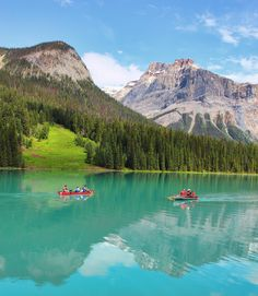 Boats on Emerald Lake Art Print by Joe-LynnDesign - X-Small Travel Around The World, Around The Worlds, Pictures Of Beautiful Places, Emerald Lake, Sunset Landscape, Historical Sites, Orange County, Worlds Largest, Places Ive Been
