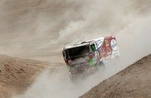 Dakar 2013, stage 6: Arica - Calama. Eurol VeKa MAN rally team