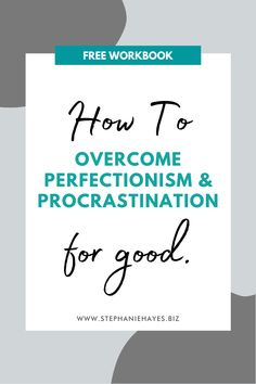 Here are 14 steps you can take to help overcome perfectionism. shifting acceptance, reassurance and validation from external to internal sources. Everything All At Once, Mission Vision, Vision Statement, My Brain, Life Organization, Business Coaching, Writing, Motivation, Feelings