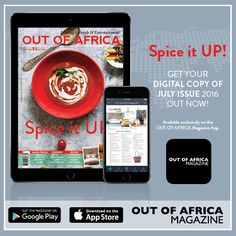 Get your digital copy of the July issue today!    July is one of the best months to indulge in some spice and get friends and family round for fun and entertainment with us! Get the digital copy of our new and exciting issue now exclusively available on our App.   Download the FREE OUT OF AFRICA Magazine App today and purchase your copy of the July issue.    Find out more at http://ift.tt/25wcEYe