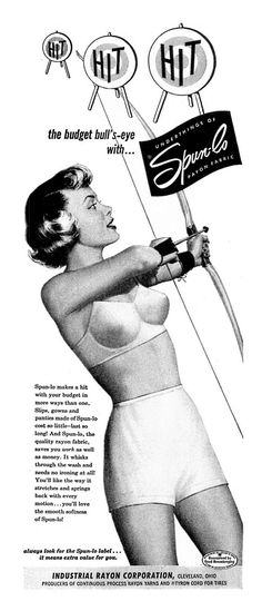 1950 Advertisement for Spun-Lo Lingerie