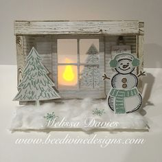 Rustic Cabin by scrappedon - Cards and Paper Crafts at Splitcoaststampers