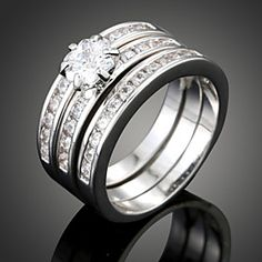 Wei Hua Elegant Couple Ring