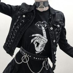 Hipster Outfits – Page 7541045291 – Lady Dress Designs Gothic Outfits, Edgy Outfits, Grunge Outfits, Fashion Outfits, Womens Fashion, Fashion Styles, Summer Outfits, Fashion Ideas, Hipster Outfits