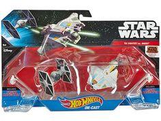 Miniatura Hot Wheels Star Wars - TIE Fighter vs. Ghost - Mattel com as melhores condições você encontra no Magazine Raimundogarcia. Confira!