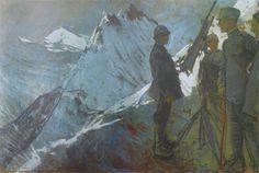 GIULIO ARISTIDE SARTORIO, Castellaccio, 1918