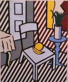 Roy Lichtenstein Statues, Pop Art Illustration, Illustrations, Roy Lichtenstein Pop Art, Industrial Paintings, Art Articles, Modern Pop Art, La Art, Art Diary