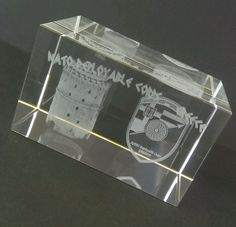 Nato Deployable Corps Greece 3-D Laser Etched Crystal Glass Block Hellenic Army  #NatoDeployableCorps