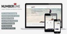 NumberOne – Premium Multi-Purpose WordPress Onepage Theme