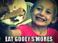 eat s'mre s'mores
