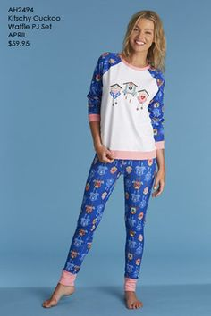 Colourful, cozy and cute. I like these PJs.