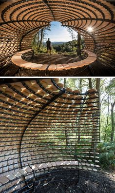 This Sculptural Shelter Is A Place To Enjoy Quiet And Restful Contemplation | CONTEMPORIST