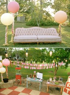 Vintage movie night,oh fun!!!...grab your girls,a big couch,outside screen and projector!