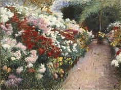 Special Exhibition Gallery - Americans in Paris, 1860-1900: Chrysanthemums, 1888