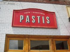 Pastis in the Meatpacking