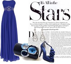 """Prom of the Stars...."" by paca86 on Polyvore"