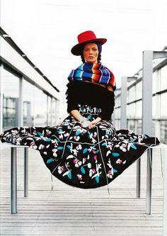vogue paris - Peruvian inspiration #fashion