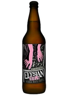 With this Elysian Nibiru Yerba Mate Tripel, you can have your Yerba Mate, and drink your beer too.
