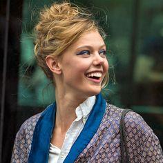 French girl beauty trends: blue eyeliner