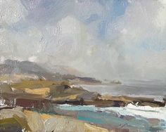 Roos Schuring New paintings- Seascapes and landscapes plein air on Bloglovin