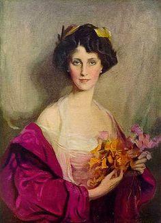 Winifred Anna Cavendish-Bentinck (1912) Philip Alexius de Laszlo (Hungría/Inglaterra, 1869-1937) Academicismo Cosmopolita