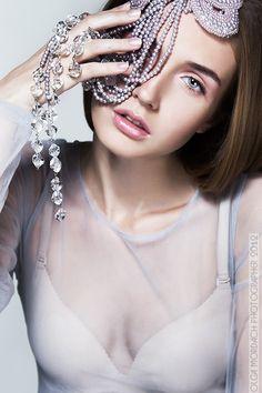 BLUE by anna kubanova, via Behance