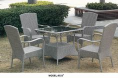 wicker colorful coffee set, 1table and 4 chairs www.facebook.com/pages/Foshan-Fantastic-Furniture-CoLtd                                                         www.ftc-furniture.com
