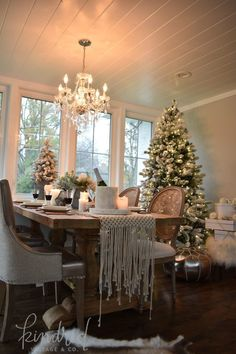 """I'm so thrilled to be joining you guys for the Seasons of Home dining room tour that is hosted by Ella Claire blog. This isn't technically our """"dining room"""" but it is a space that we dine in almost every evening. The space is off of our family room and kitchen. It's much less formal…"""
