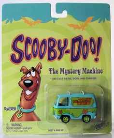Johnny Lightning Cartoon Network Scooby-Doo The Mystery Machine
